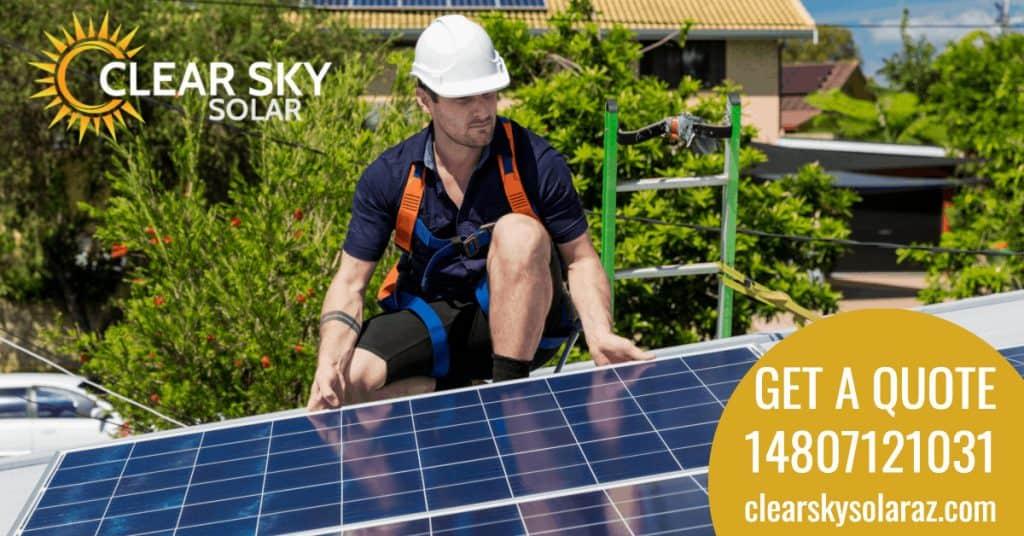 Solar energy company in Scottsdale, Arizona, Solar Panel Cleaning Services